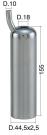 Milking Machine – Milking Systems - Milking Equipment - 4208007 -TCS 44,5X2,5X155 D.18 - Доильные группы - Other shells