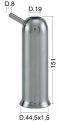 Milking Machine – Milking Systems - Milking Equipment - 4208017 -TCS 44,5X1,5X151 D.19 - Доильные группы - Other shells