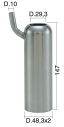 Milking Machine – Milking Systems - Milking Equipment - 4208089 -TCS 48,3X2 X147 D.29,3 - Доильные группы - Other shells