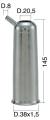 Milking Machine – Milking Systems - Milking Equipment - 4208141 -TCS 38X1,5X143,5 D.20,5 - Доильные группы - Other shells
