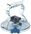 Milking Machine – Milking Systems - Milking Equipment - 3100014 -TRANSP.LIBERO LID D.16 WITH BY PASS - Ведро & Молокопровод - Lids