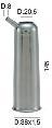 Milking Machine – Milking Systems - Milking Equipment - 4208198 -CANN.INX 38X1,5X140 D.20,5 - Доильные группы - Other shells