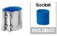 Milking Machine – Milking Systems - Milking Equipment - 9010089 -Coupling Blue D40 - Молочная линия - Milk Receivers HD